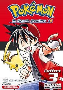 Pokémon la grande aventure Coffret Intégral Tomes 1 à 3 + Guide