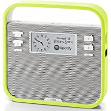 Smart Portable Speaker with screen compatible with Amazon Alexa, Green