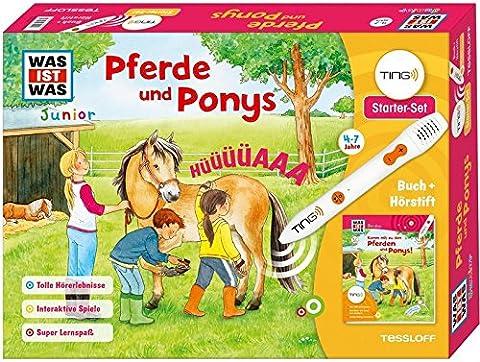 TING Starterset Pferde und Ponys. Buch + Hörstift: Über 650 Hörerlebnisse, Bilder und Texte zum Antippen, lustige Dialoge + Reime (TING - Spielen, Lernen, Wissen)