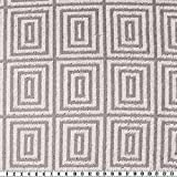 Velours-Frottier, abstrakt, grau/silber, 160 cm breit,
