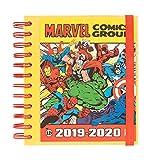 Erik - Agenda Scolaire Journalier Marvel 2019/2020-10 mois