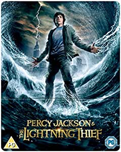 Percy Jackson and the Lightning Thief [Blu-ray] [2010] (Limited Edition Steelbook)