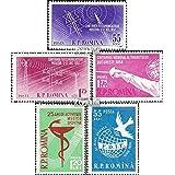Roumanie 1699-1700,1706,1707,1708 (complète.Edition.) 1958 oss Conférence, escrime, Sports, Femme (Timbres pour les collectionneurs)