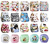 Dudeybaba Reusable Pocket Nappies - For Boy/Girl/Unisex - Suitable Random Choice (Unisex)