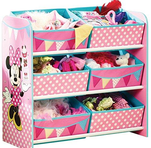 dermöbel Kinderregal Spielzeugkiste Minnie Mouse 655412 (Riesen Minnie Maus)
