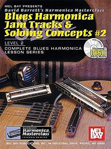 Blues Harmonica Jam Tracks & Soloing Concepts #2 (David Barrett's Complete Harmonica Masterclass Lesson)