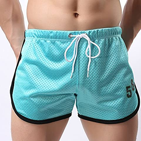 Alamor Athletic Running Shorts for Men Double Mesh Quick Qry