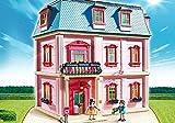 PLAYMOBIL® Dollhouse 3er Set 5303 5308 5336 Romantisches Puppenhaus + Wohnzimmer mit Kaminofen + Einbauküche mit Sitzecke -