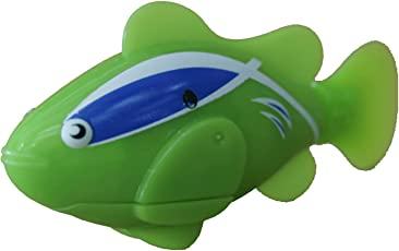 AdraxX Green Clownfish Water Sensitive Robot Fish for Kids Aquarium [Toy]