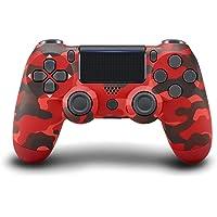 JORREP Ersatz für PS4 Controller,Wireless Controller für Playstation 4/Pro/3/Slim/PC,Six-Achsen Gyro Sensor Dualshock 4…