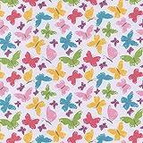 HIGGS & Higgs - Summertime Schmetterlinge Polybaumwolle -
