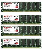KB_MASTER_DDR_SAMSUNG 4 GB (4 x 1 GB) PC3200