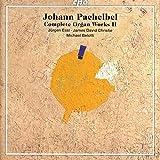 Pachelbel : Intégrale de l'uvre pour orgue, vol. 2. Essl, Christie, Belotti.