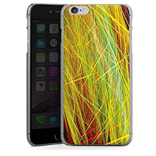 Apple iPhone 5s Housse Étui Protection Coque Rayons Laser couleurs CasDur anthracite clair