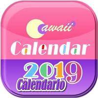 Cawaii Calendario 2019 Libre!