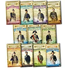 C S Forester Hornblower Saga 11 Books Collection Pack Set RRP: £87.89 (Mr.Midshipman Hornblower, Lieutenant Hornblower, Hornblower and the Hotspur, Hornblower during the Crisis, Hornblower and the Atropos, Beat to Quarters, Ship of the Line, Flying Colours, Commodore Hornblower, Lord Hornblower, Admiral Hornblower in the West Indies)