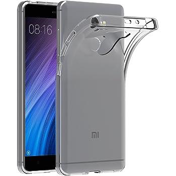 Coque Xiaomi Redmi 4 AICEK Etui Housse Prime Mince