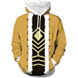 My Hero Academia Hawks Cosplay Costume Adult Boku no Hero Academia Printing Hoodie Jumper Pullover Yellow