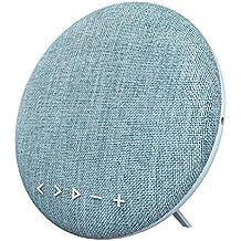 HOIHO Altavoces Bluetooth inalámbrico portátil Bluetooth 4.1,12W, con radio FM, micrófono incorporado, audio Jac 3.5 mm, acoplamiento estéreo para sonido envolvente, para deportes, viajes, ducha, playa, fiesta ( Color : Blue )