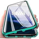 Wishcover Etui na Oppo A72/A73/A53 5G, z przodu i z tyłu szkło 9H, mocna magnetyczna obudowa z magnetyczną skrzynką adsorpcyj