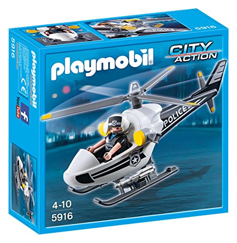 Playmobil - Police Helicopter (59160)