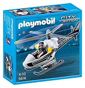 Playmobil - Helicóptero de Policía (59160)