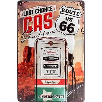 Neu Blechschild 22182 20 X 30 cm Motorrad Gasoline The Biker´S Choice