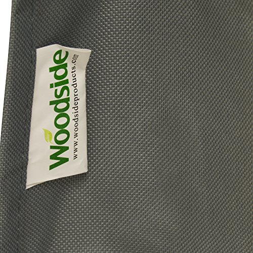 Woodside Grey Heavy Duty Outdoor Garden Furniture Cushion Storage