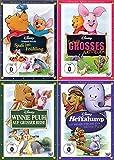 Winnie Puuh Collection | Spaß im Frühling + Auf grosser Reise + Ferkels grosses Abenteuer + Heffalump - Ein neuer Freund für Winnie Puuh (4-DVD)