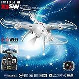 Syma X5SW 4CH 2.4G 6-Asse Giroscopio RC Wifi FPV Quadricottero Drone con Telecamera 0.3 MP