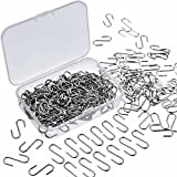 150 Stück Mini S Haken Connectors Metall S Draht Haken Kleiderbügel mit Aufbewahrungsbox für DIY Handwerk, Hängende Schmuck, Schlüsselanhänger und Tags (22 x 8 mm)