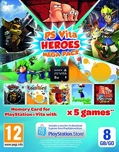Heroes Mega Pack Plus 8Gb Memory Card (PlayStation Vita - Vita Pack