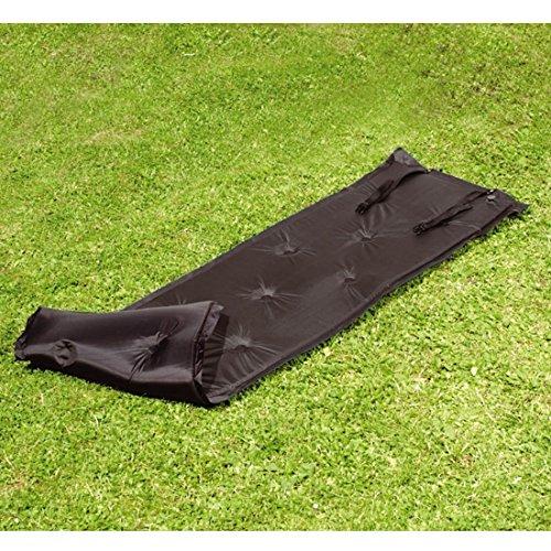 Preisvergleich Produktbild Selbstaufblasende Luftmatratze Luma Luft Matratze schwarz Camping Campingmatratze 188 x 52,5 x 2,5 cm