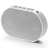 GGMM Smart Speaker Alexa Sprachsteuerung, Multiroomsystem, Smart Home Gerätekontrolle, WLAN/Airplay/DLNA/TuneIn, 10W, 2200mAh, Weiß