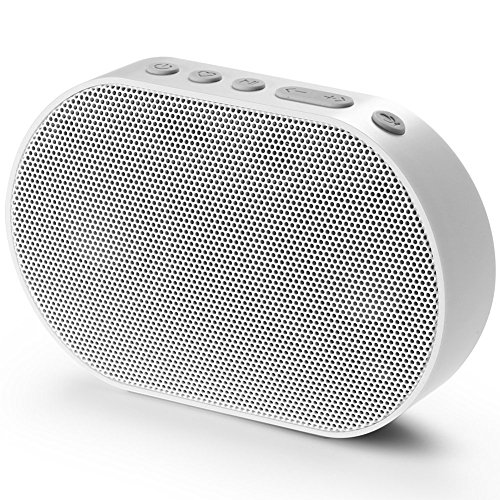 GGMM Mini Smart Speaker Bluetooth Lautsprecher, 10W, 2200mAh, Weiß