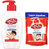 Lifebuoy Total 10 Germ Handwash 190 ml (Free 185 ml pouch)
