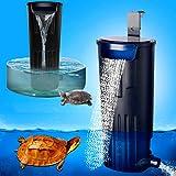 LONDAFISH Filtro Sumergible Mudo del Agua del Filtro de la Tortuga para la filtración del Tanque/del Acuario 600L / H de la T