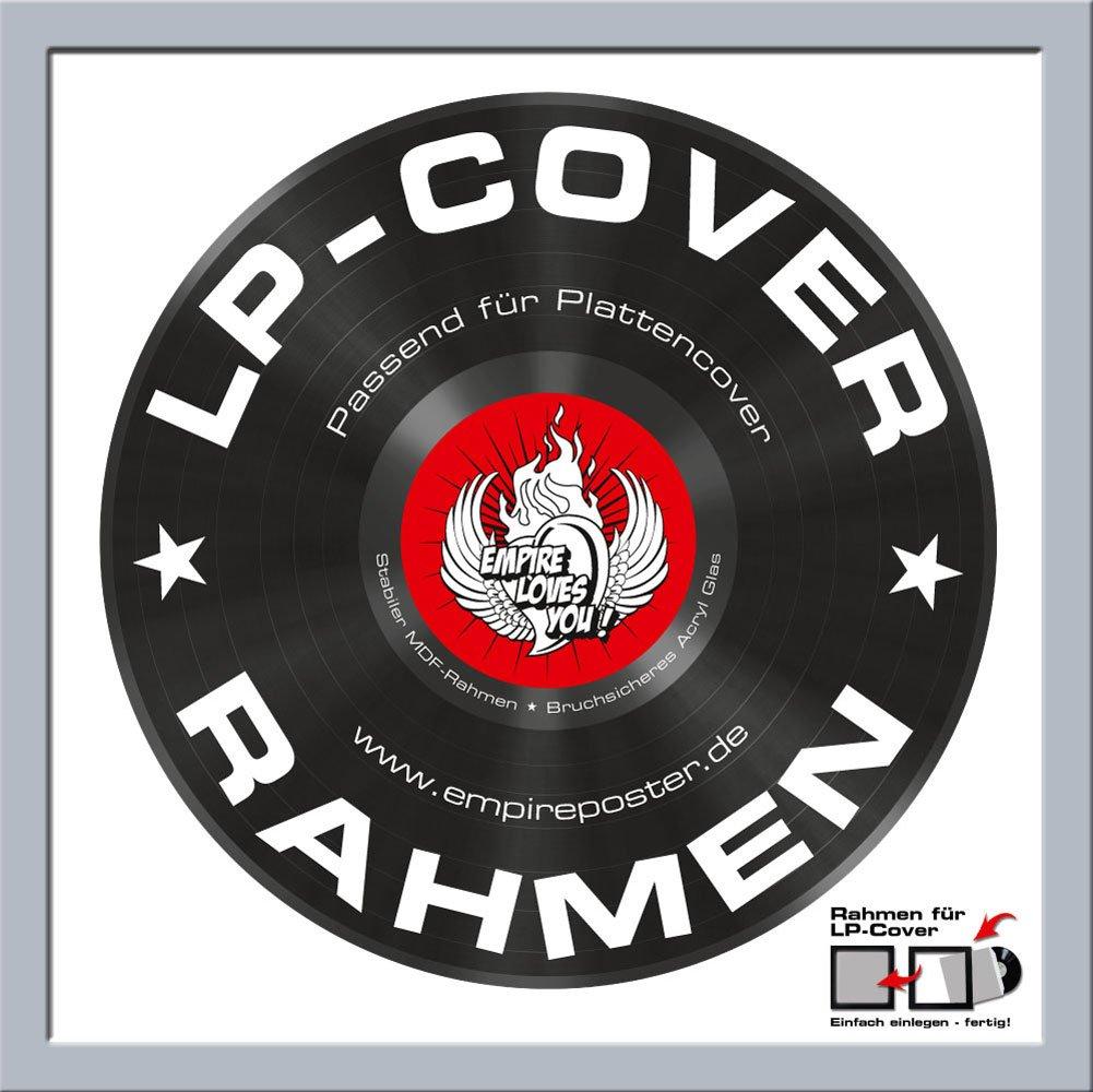 Amazon.de: 6er Set Schallplattenrahmen Albumrahmen - Bilderrahmen ...
