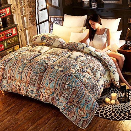 MMM Quilt Winter Quilt Core plus épais Garder un coton chaud Double chambre étudiante individuelle Literie de printemps et d'automne ( taille : 180*220cm(3kg) )