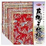 Showa Grimm Yuzen Chiyogami 83-0603 Seidenpapier, 210x210mm