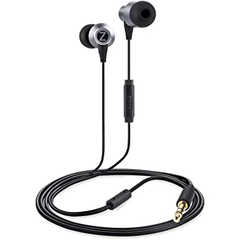 Zoook Jazz Rhythm  Dual Air Chambered Earphones with Mic (Black)