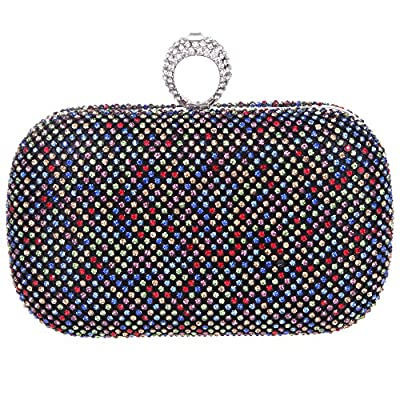 Bonjanvye Knuckles Clutch Purses For Women' s Clutches And Evening Bags