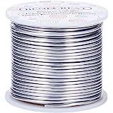 BENECREAT 12 Gauge (2mm) 100 Voeten (30 m) Aanslag Bestand Aluminium Draad Primaire Kleur voor Sieraden Kralen Craft Sculptin