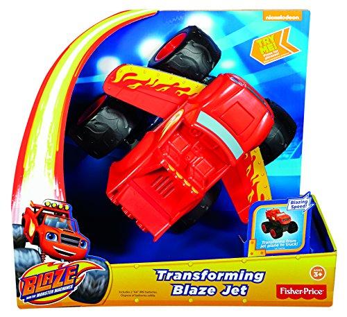 Blaze y los Monster Machines - Turbo transformación Fisher-Price (Mattel DTB72)