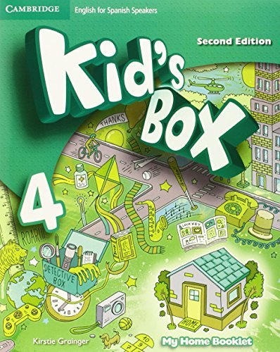 Kid's Box for Spanish Speakers Level 4 Activity Book with CD ROM and My Home Booklet by Caroline Nixon (2015-04-16)