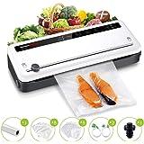 Bonsenkitchen Machine Sous Vide Alimentaire - Appareil à Faire le Vide d'air Pour la Cuisine et la Conservation - Sacs Sous V