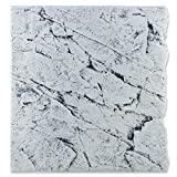 Back to Nature White Limestone 60 Slimline Rückwand H: 55 cm Größe Modul 60B (B50xH55cm)