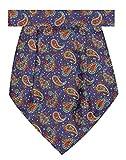 Tiekart Blue Floral/Paisely Men Cravats