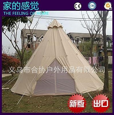 Gouqin Fashion Portable Outdoor Warm Rain Flame Retardant Single Layer Tent