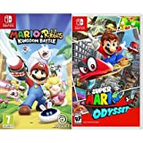Mario + Rabbids Kingdom Battle +  Super Mario Odyssey - [Nintendo Switch]
